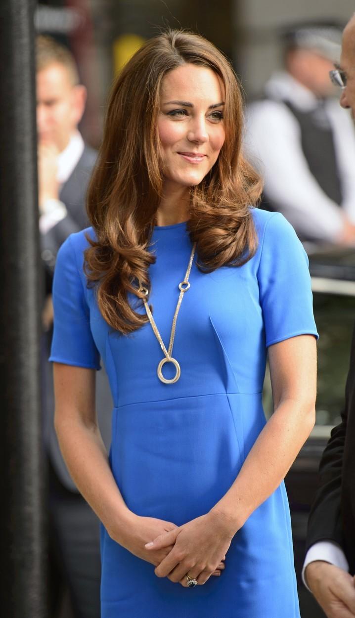 Krásný šperk od manžela Williama.