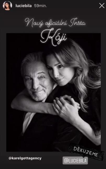 Celebrity propagují nový profil Karla Gotta