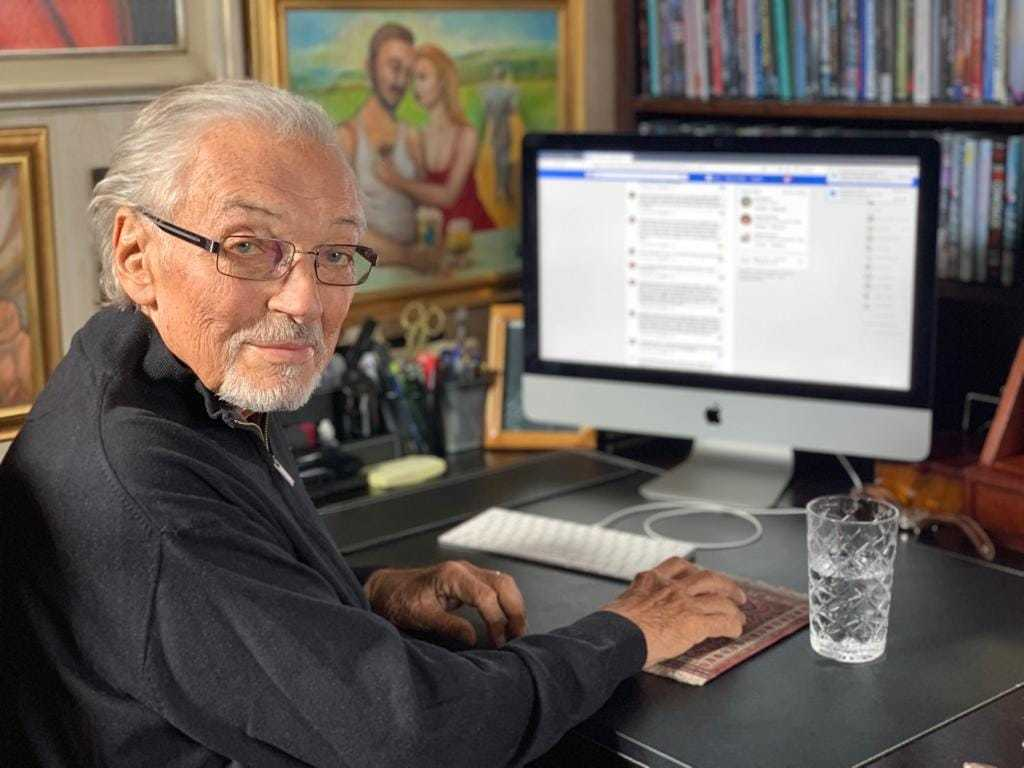 Karel Gott pracoval na své knize