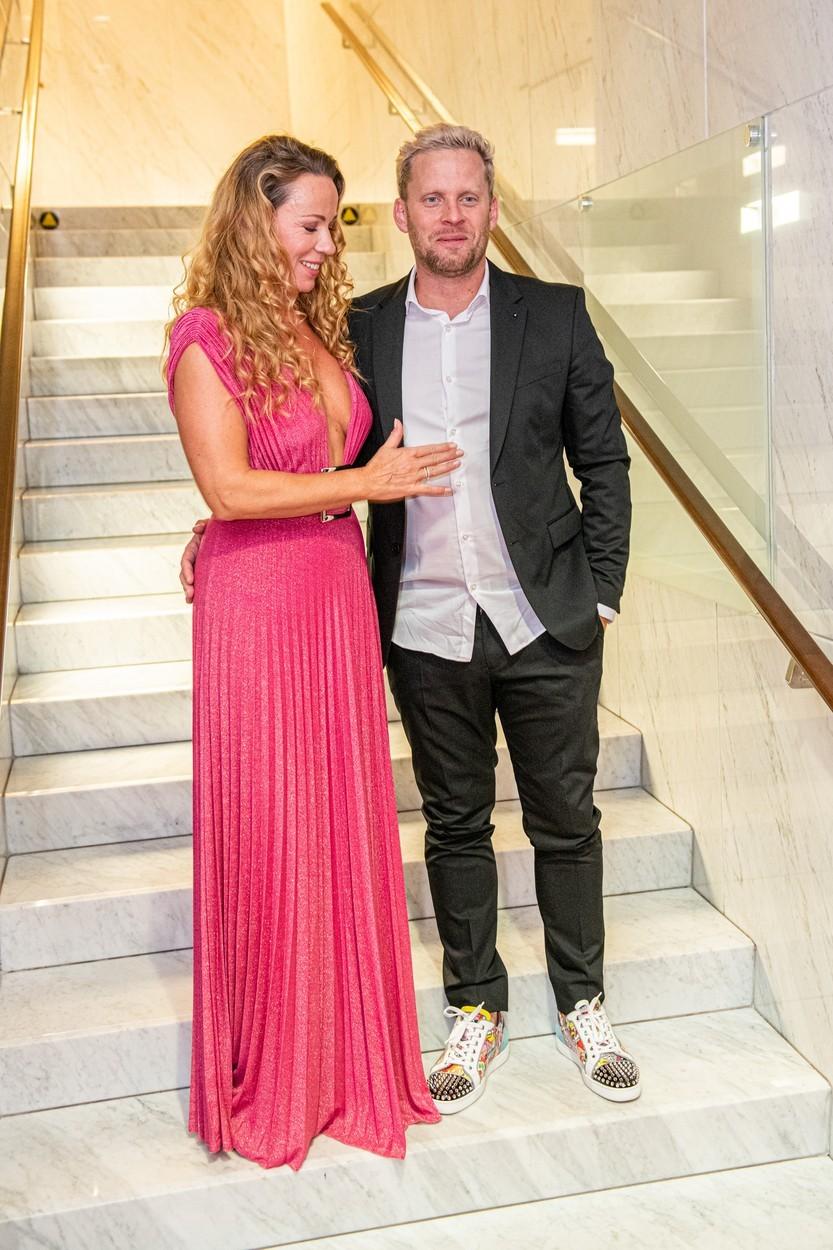 Diana Mórová a Jakub Prachař spolu celý večer laškovali