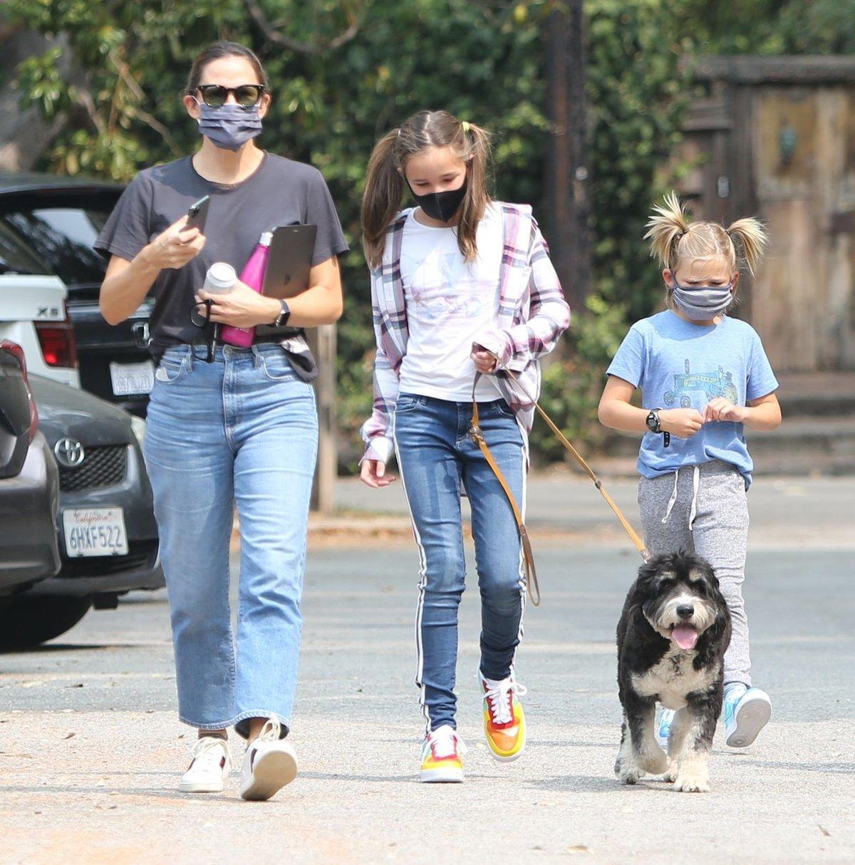 Syn Bena Afflecka a Jennifer Garnerové nosí culíčky jako holka...