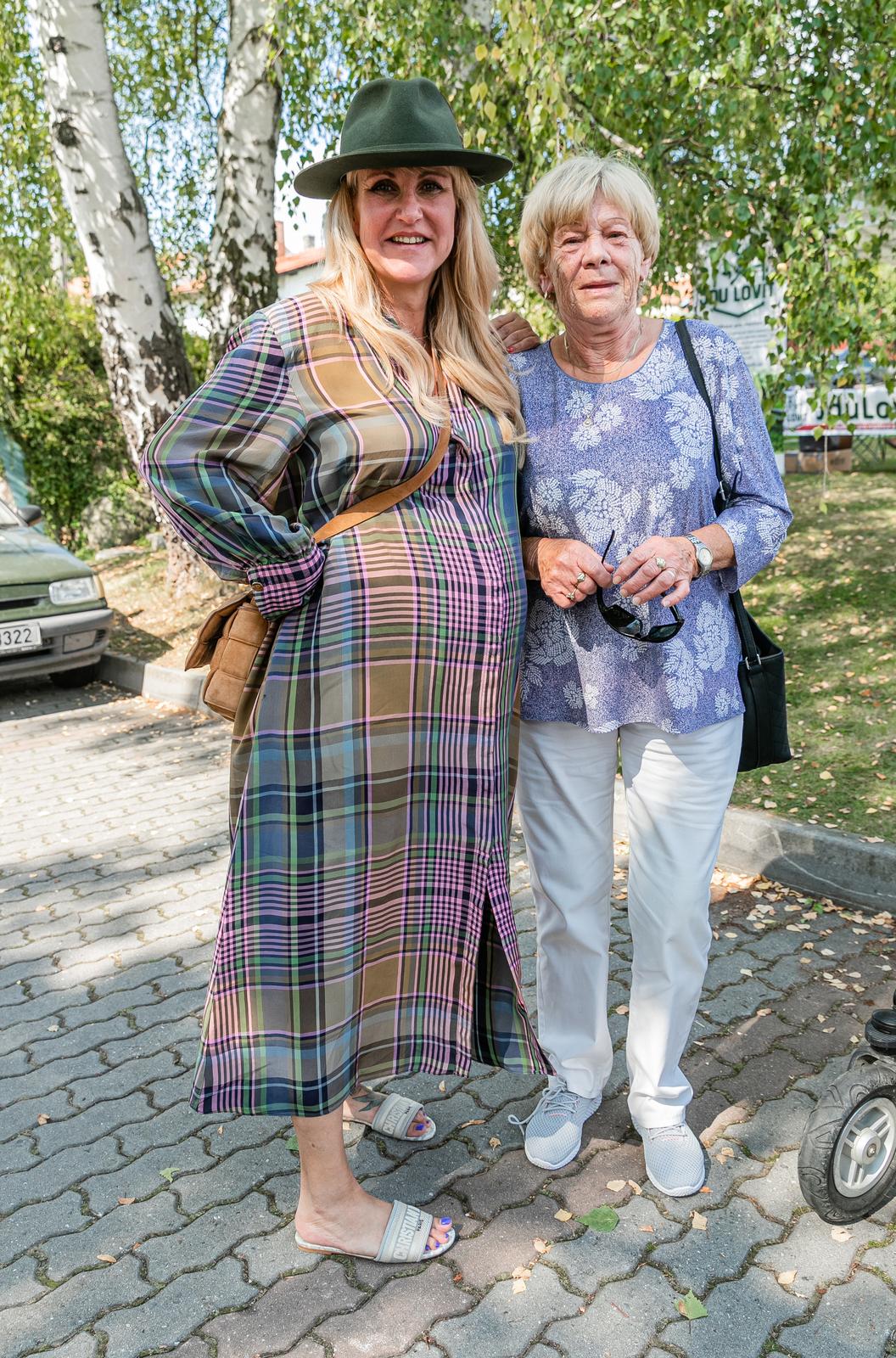 Vendula Pizingerová vzala na slavnosti i nastávající prababičku Janu.