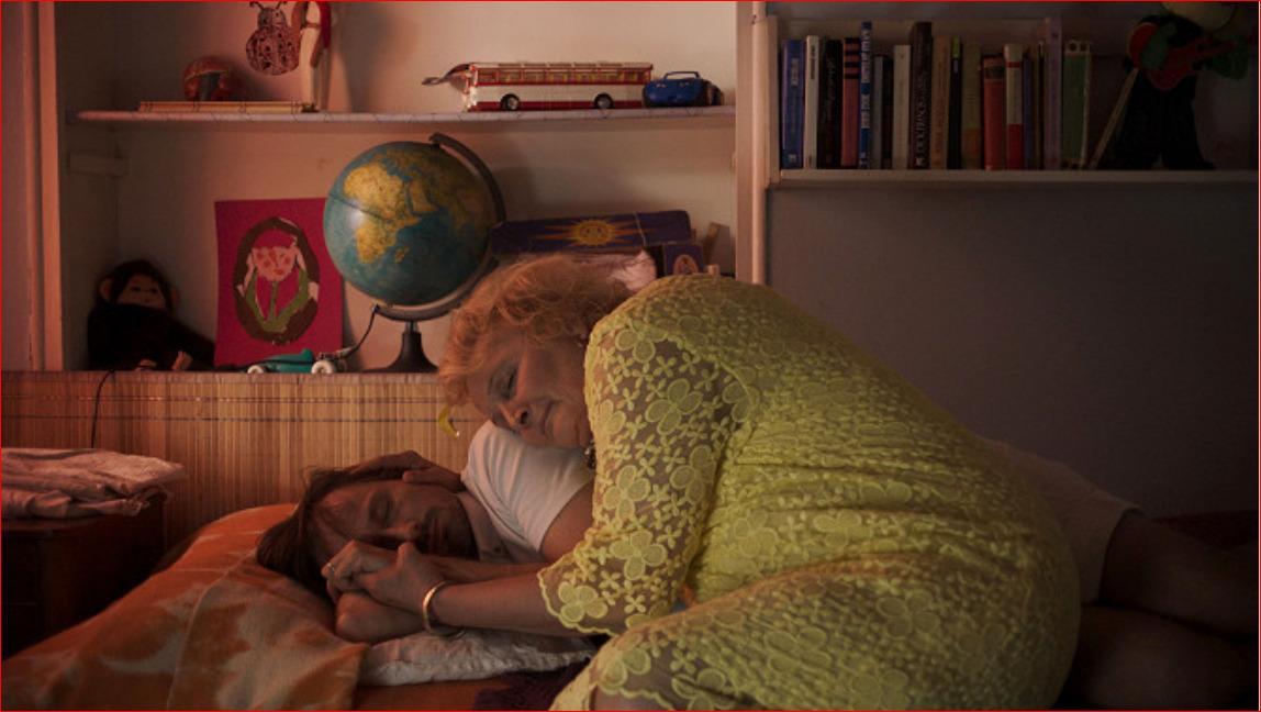S Pleslem měla Regina Rázlová scény tělo na tělo i ve filmu.