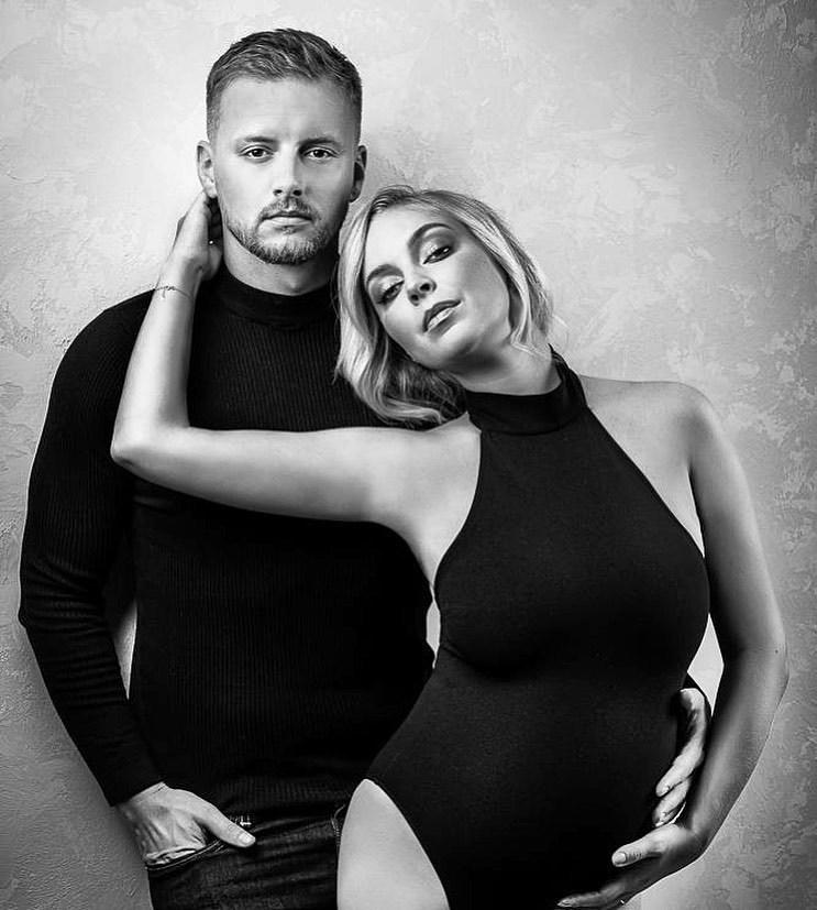 Poslední fotky Markéty před porodem