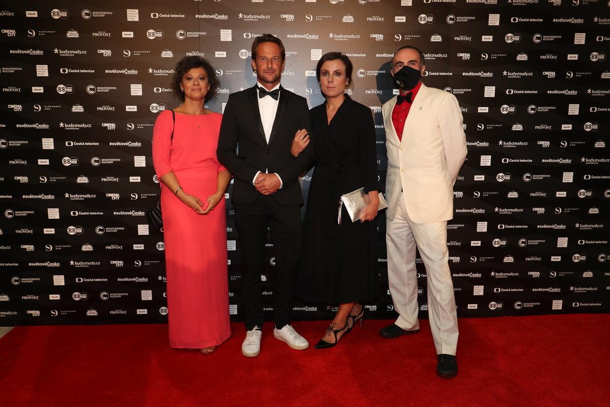 Předpremiéra filmu KAREL na Febiofest přilákala řadu vzácných hostů.