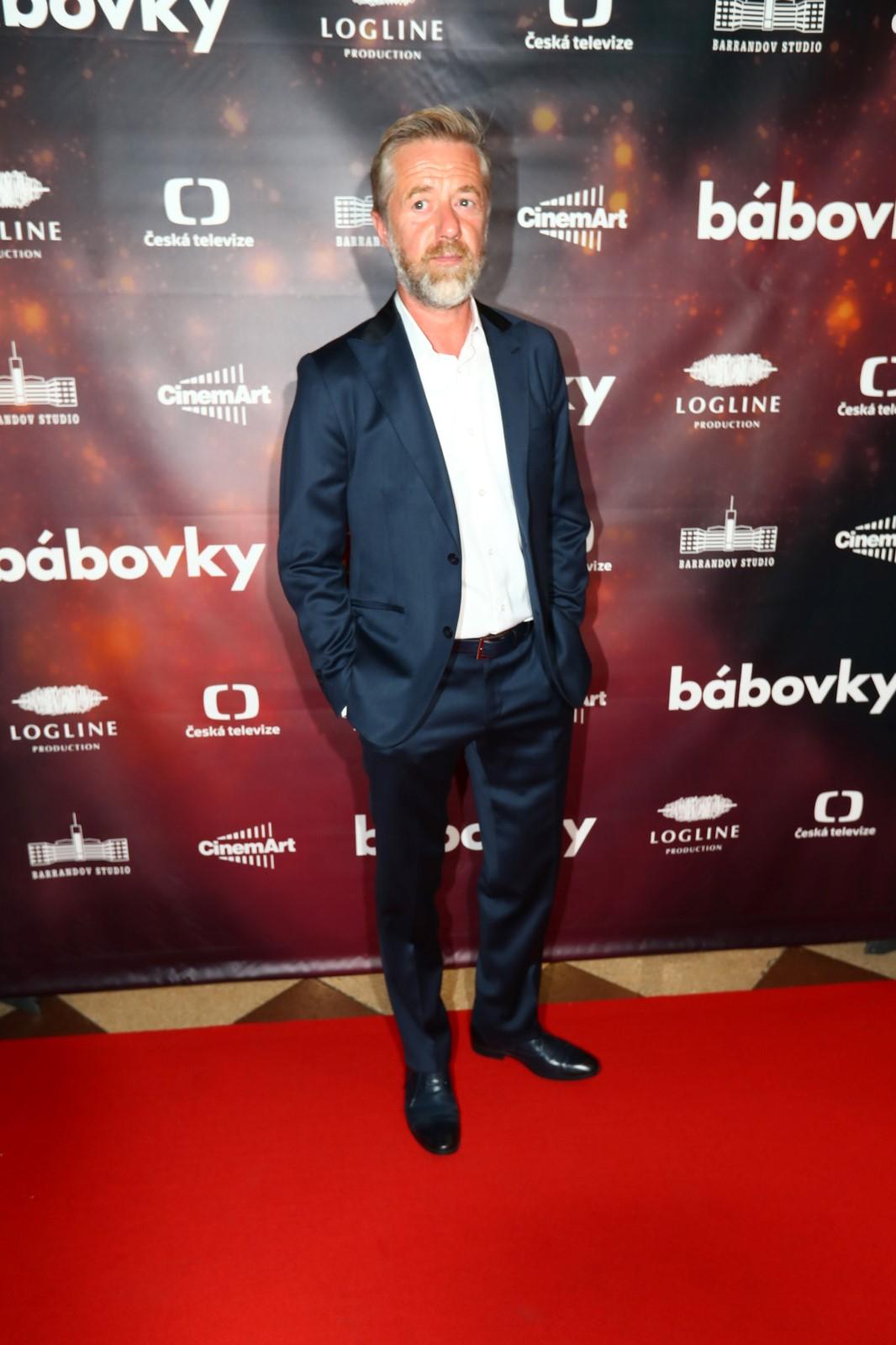 Premiéra filmu Bábovky: Jiří Langmajer