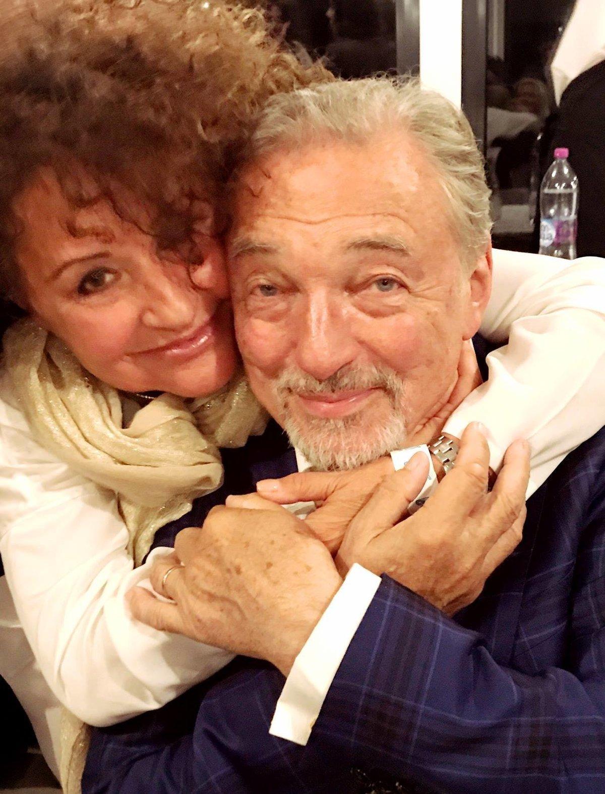 Jitka Zelenková a Karel Gott