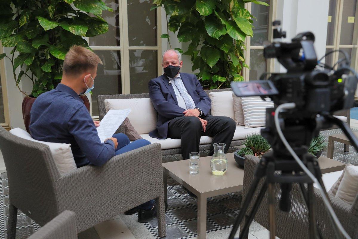 Roman Prymula během rozhovoru pro Blesk Zprávy