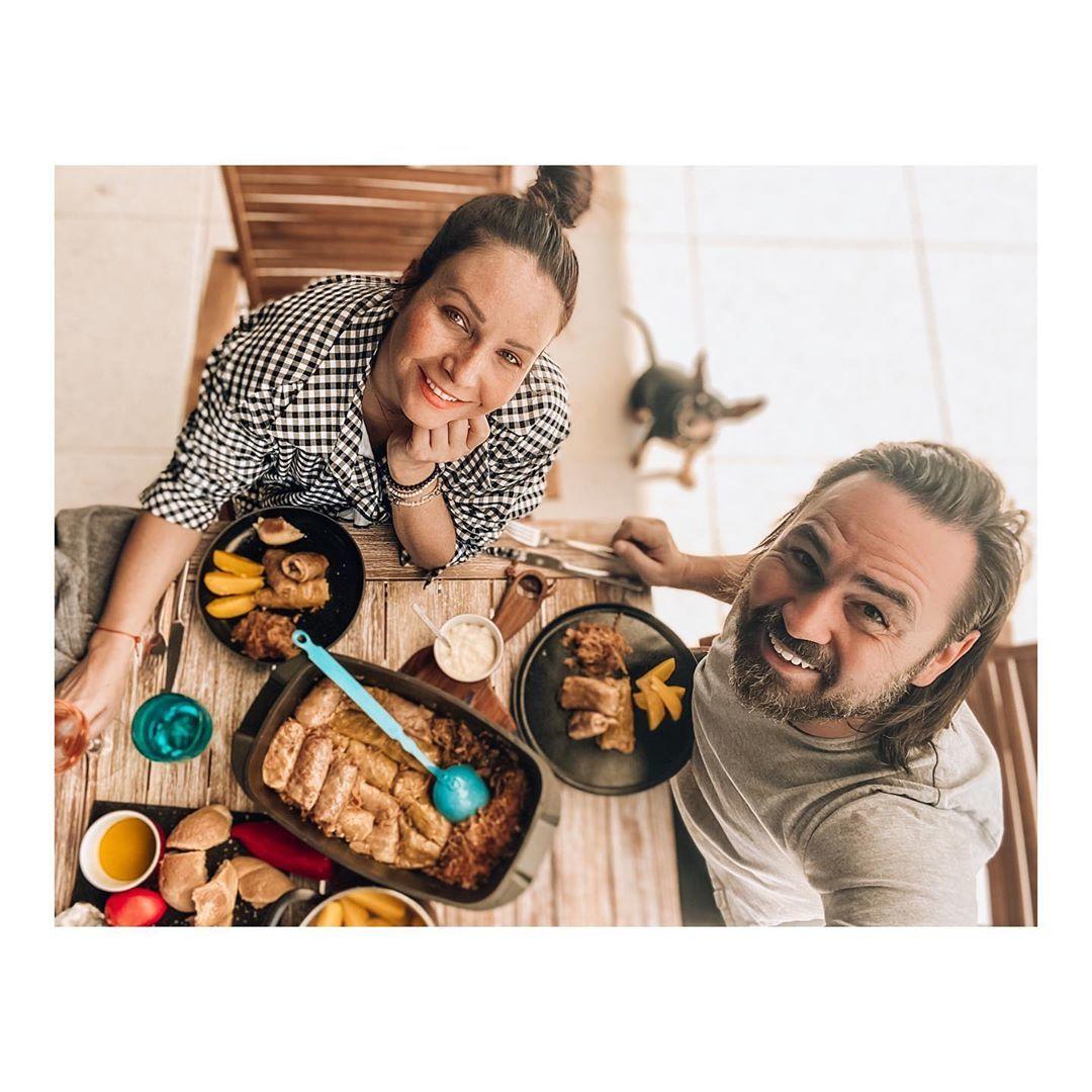 Veronika Arichteva vařila pro manžela