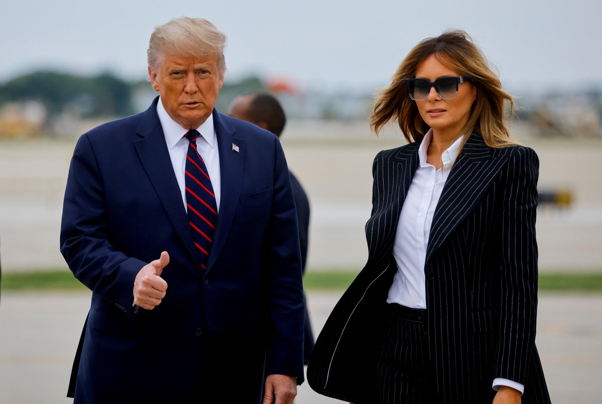 Americký prezident Donald Trump oznámil, že on a jeho žena Melanie nakazili koronavirem