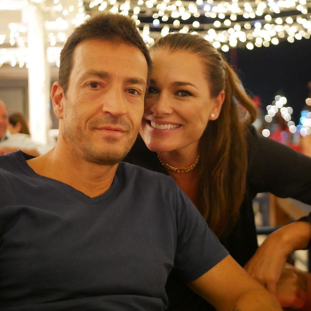 Alena Šeredová a Alessandro Nasi