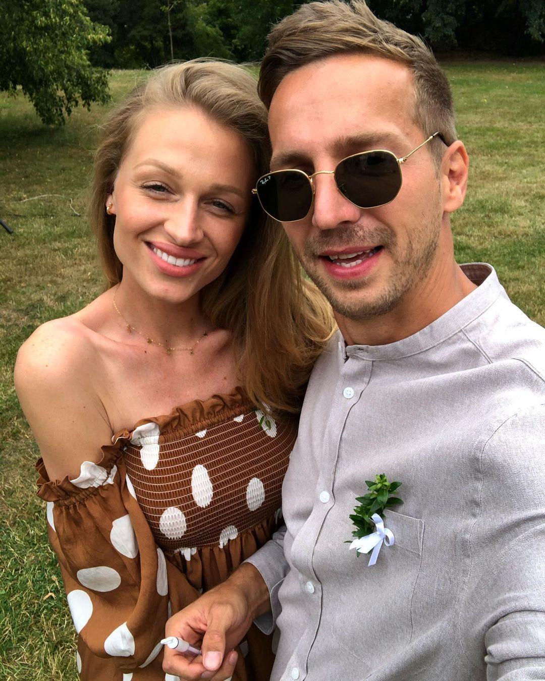 Veronika Kašáková se snoubencem Milanem
