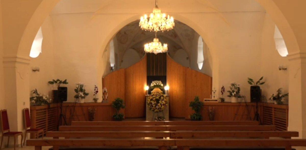 Pohřeb Jany Andrsíkové
