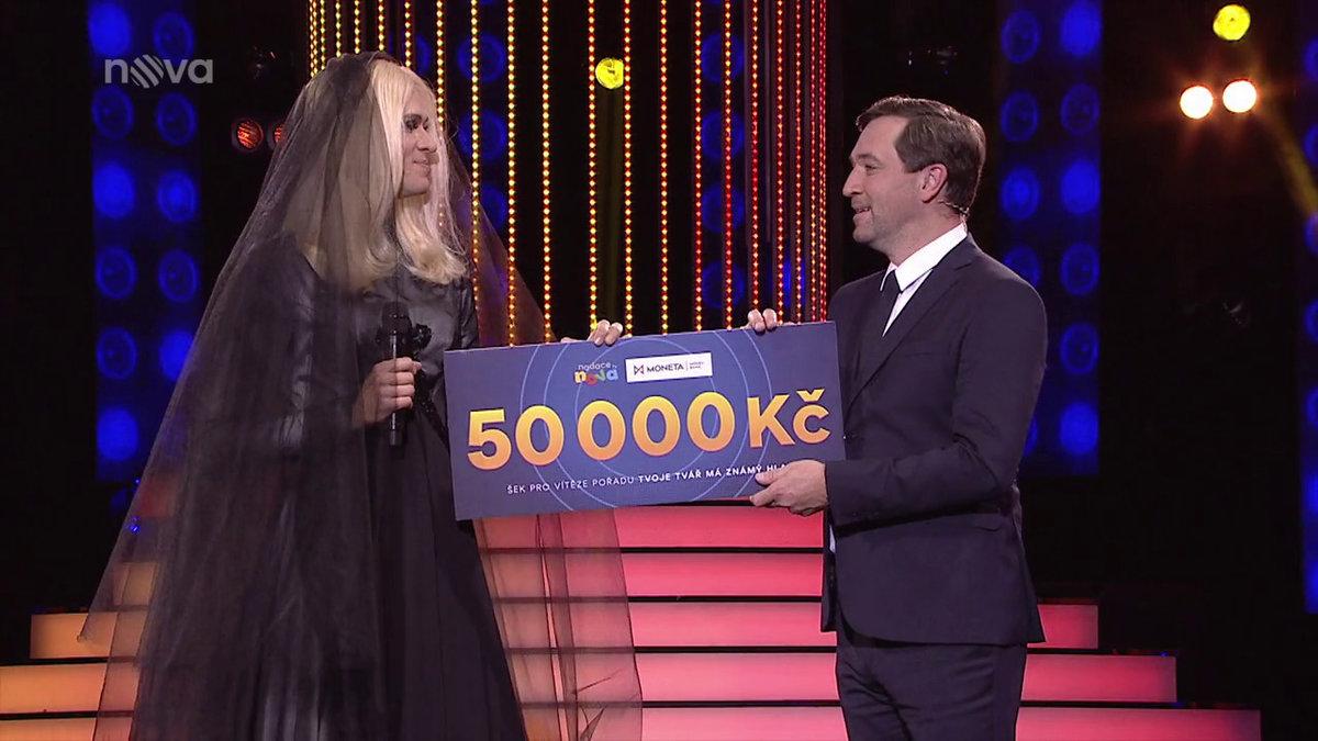 Vítězem se stal Albert Černý a peníze daroval na fond UNICEF