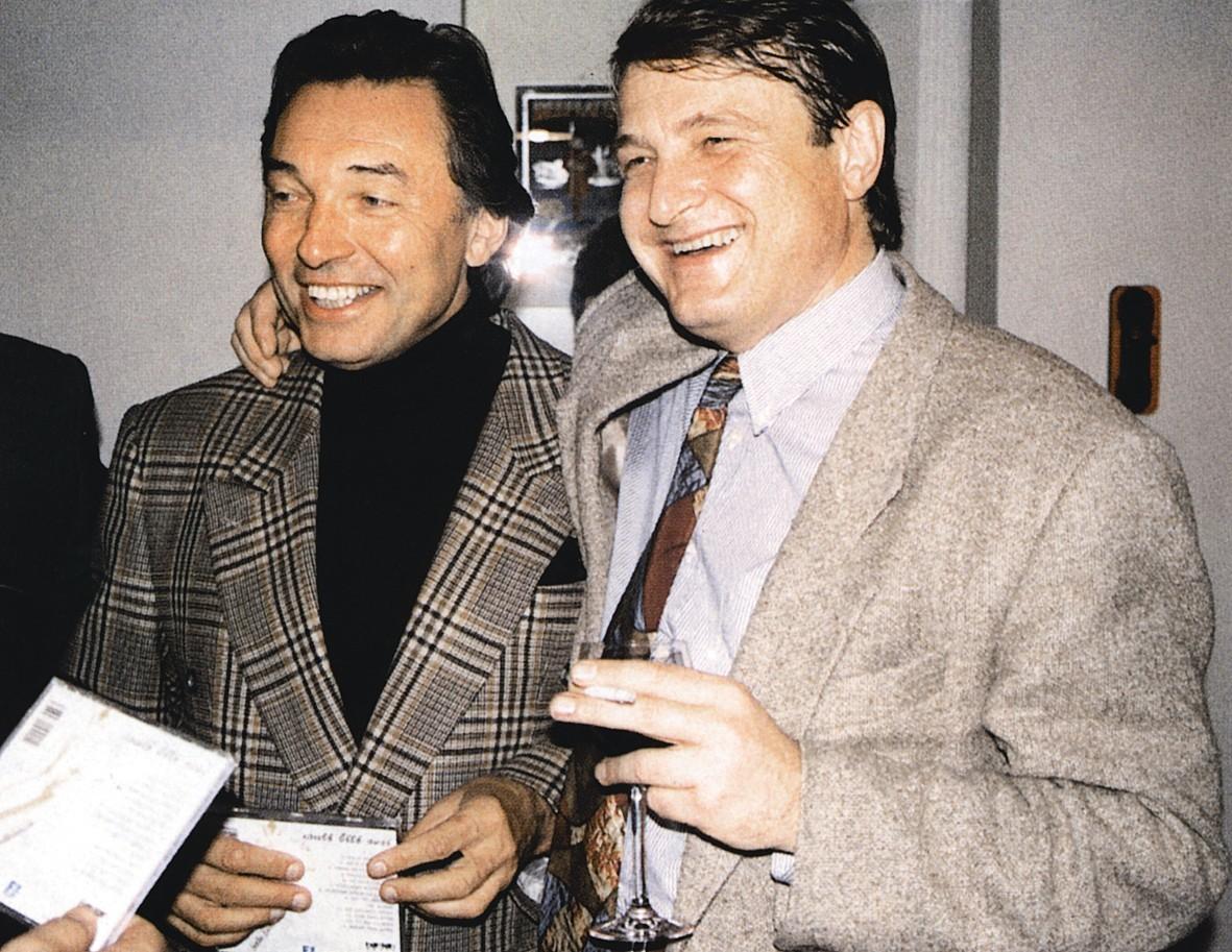 Karel Gott a Ladislav Štaidl