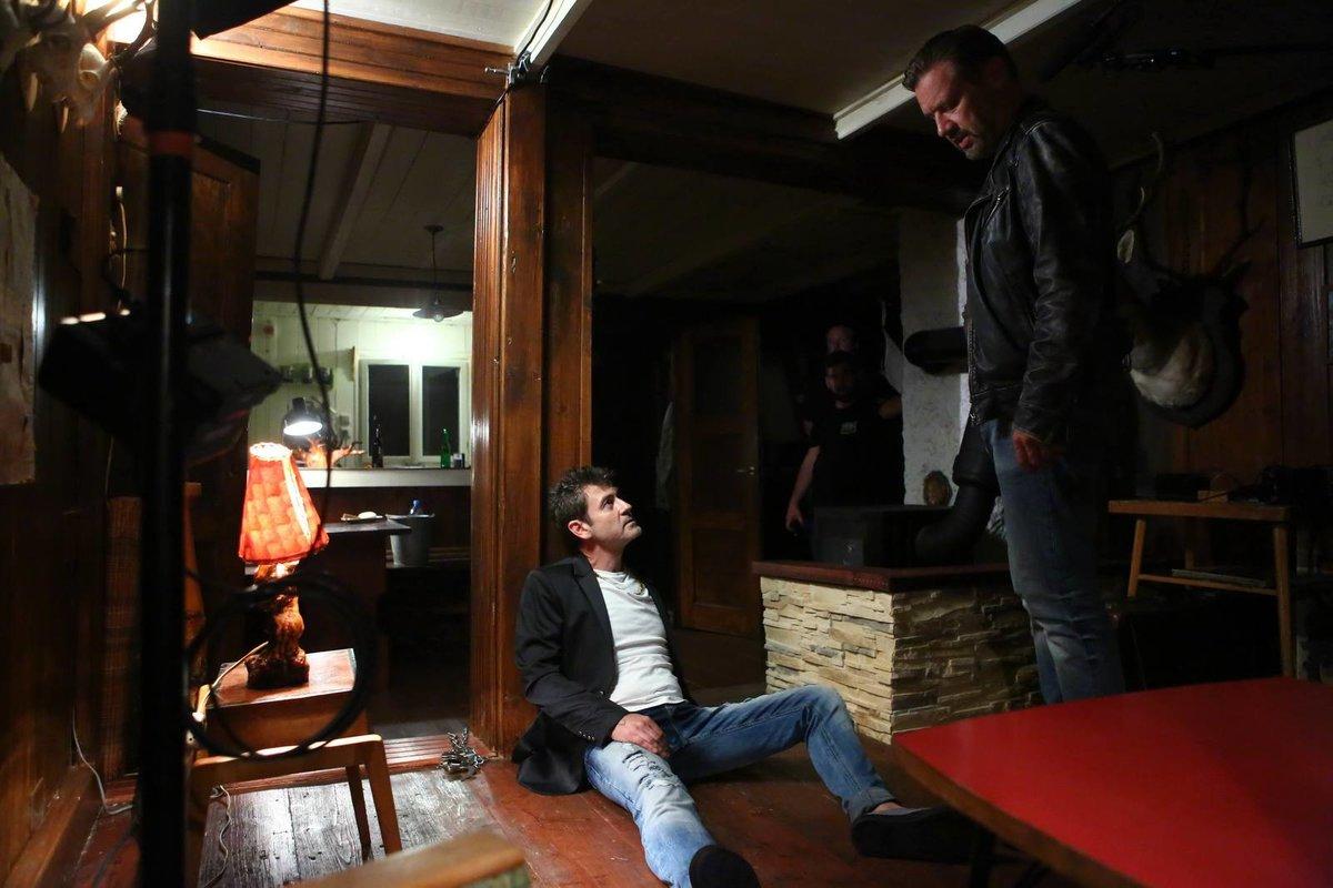 Noční scény s Davidem Matáskem nebyly příjemné.