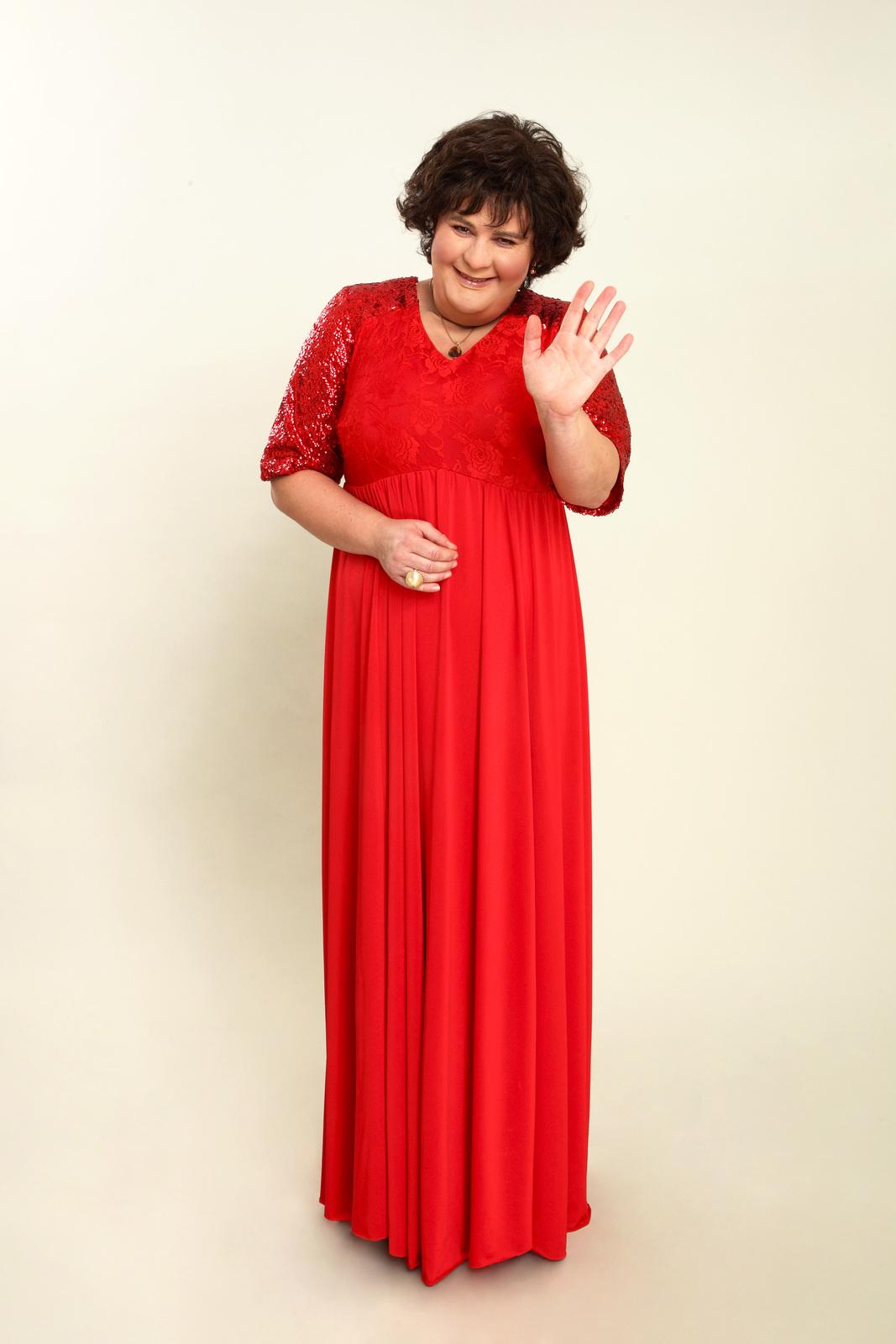 Jitka Čvančarová jako Susan Boyle v Tváři