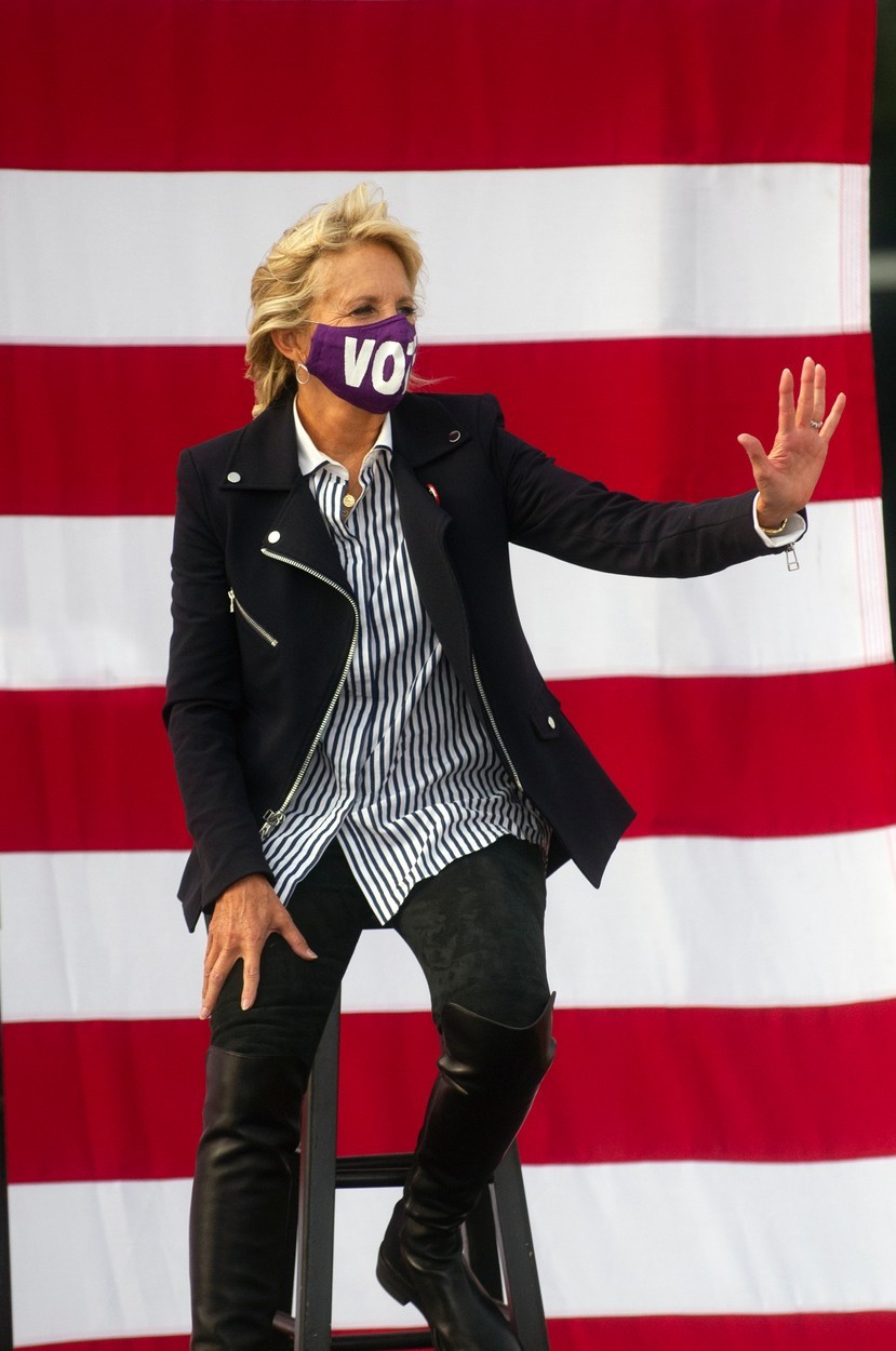 Jill Bidenová má velice osobitý styl