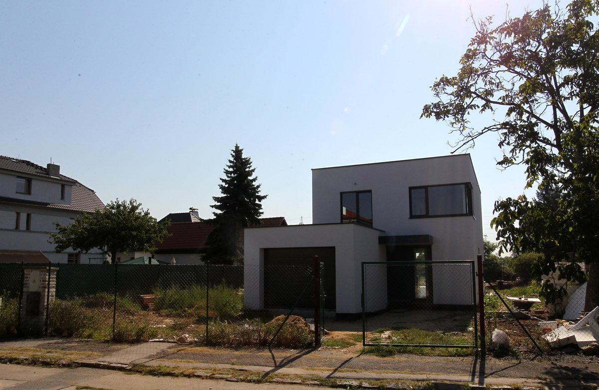 Dům v pražském Suchodole v pražském Suchodole si manželé Prachařovi pořídili v roce 2015