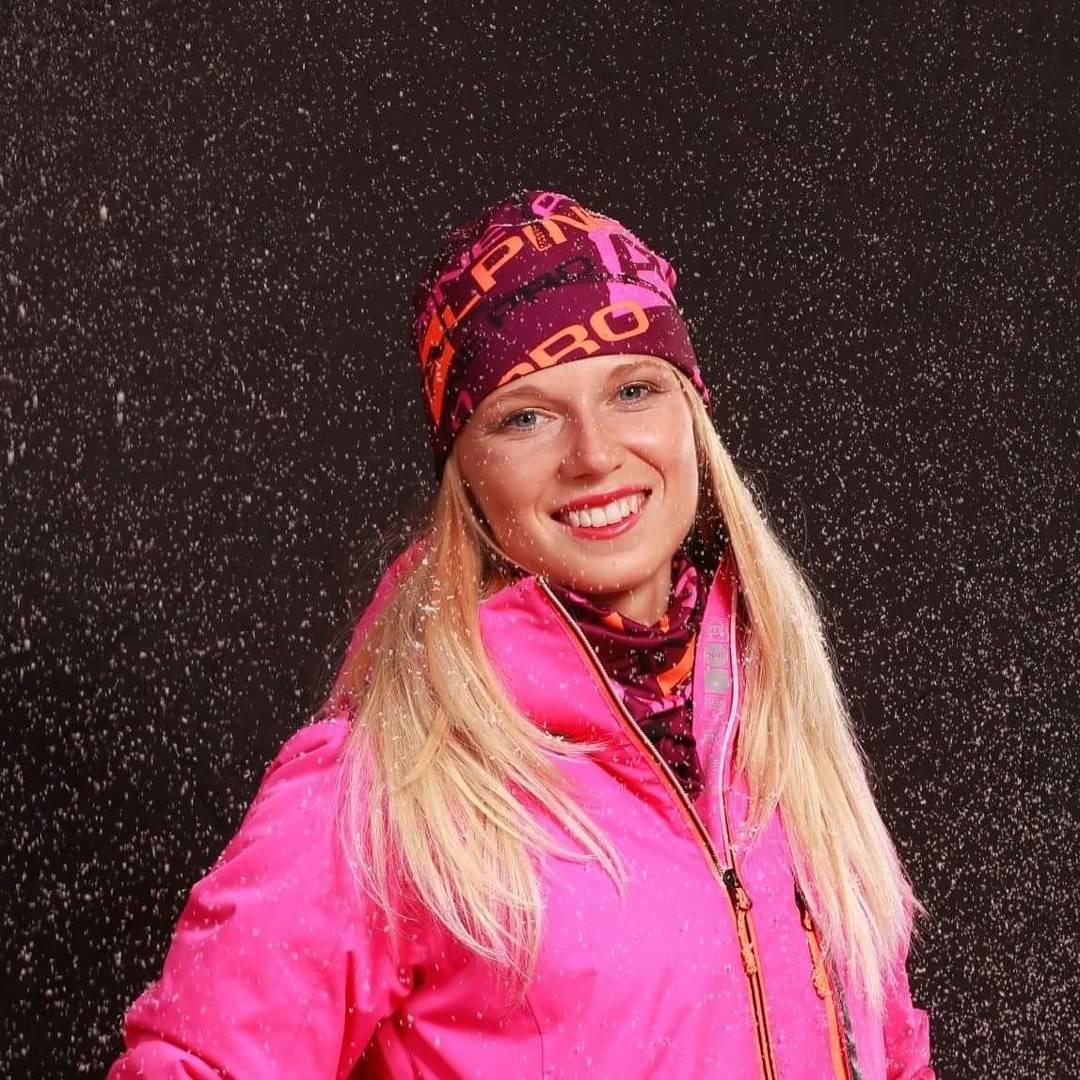 Česká biatlonistka Eva Puskarčíková
