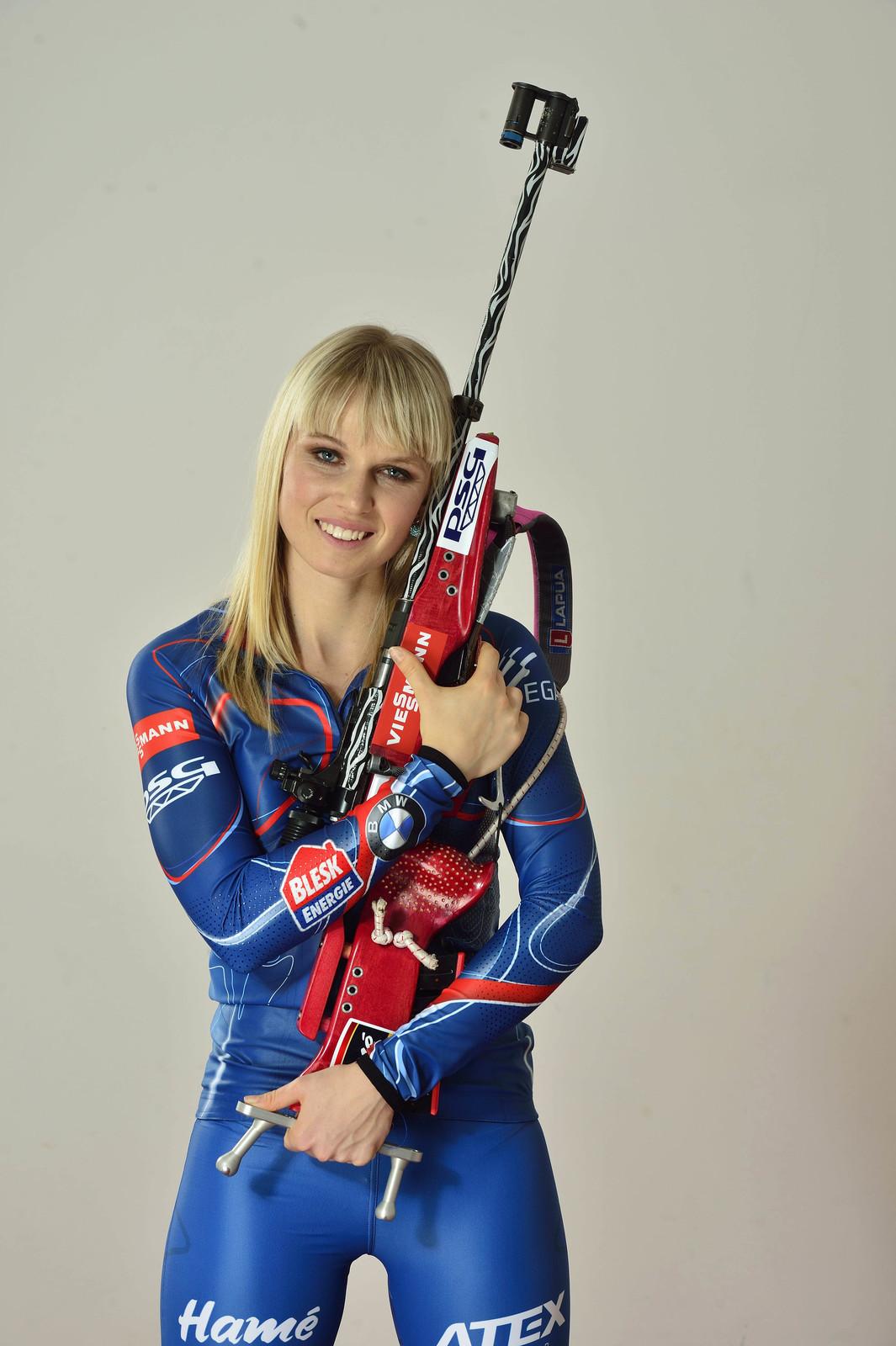 Dáma s flintou Eva Puskarčíková