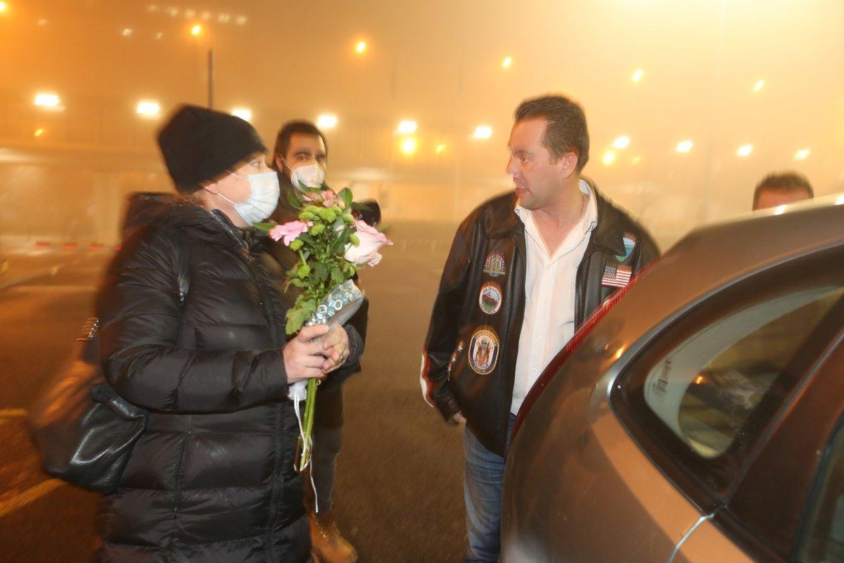 Dominika Gottová přiletěla do Prahy