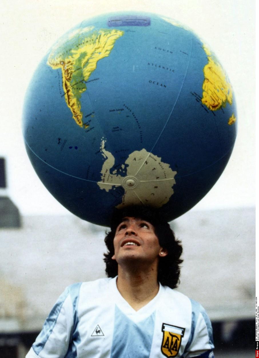 Diego Maradona v dobách největší slávy