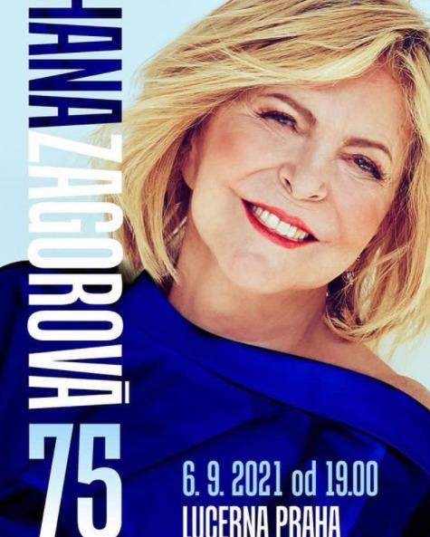 Hana Zagorová zveřejnila náhradní termín za zrušený vánoční koncert v Lucerně.