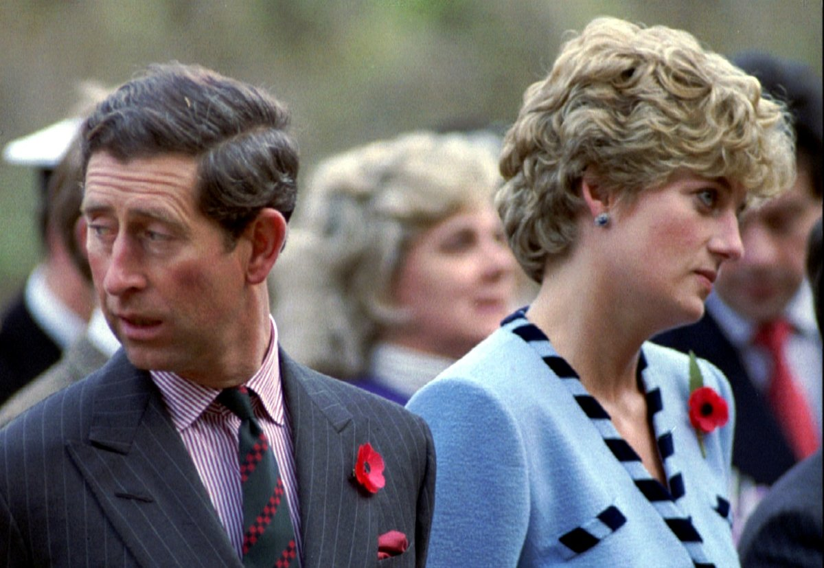 Charles a Diana.