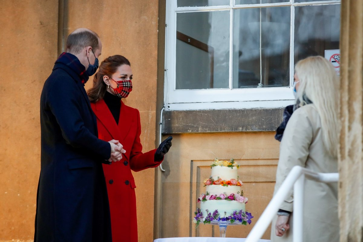 Kate Middleton a princ William na turné napříč Británií