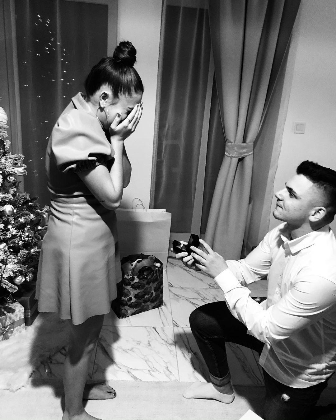Natálie Bagárová a její zasnoubení