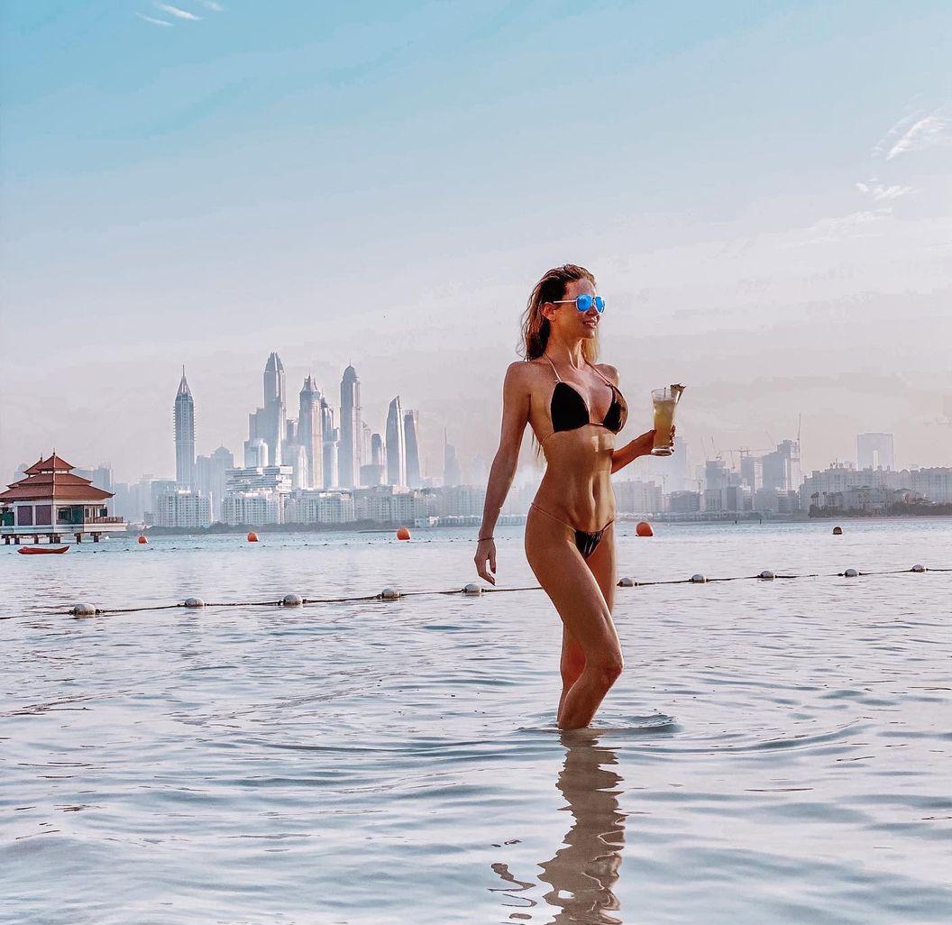 Andrea Verešová v Dubaji