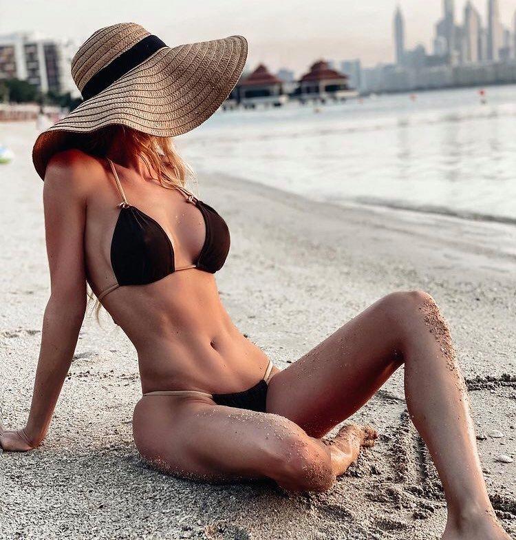 Slovenská modelka reagovala touto fotografií.