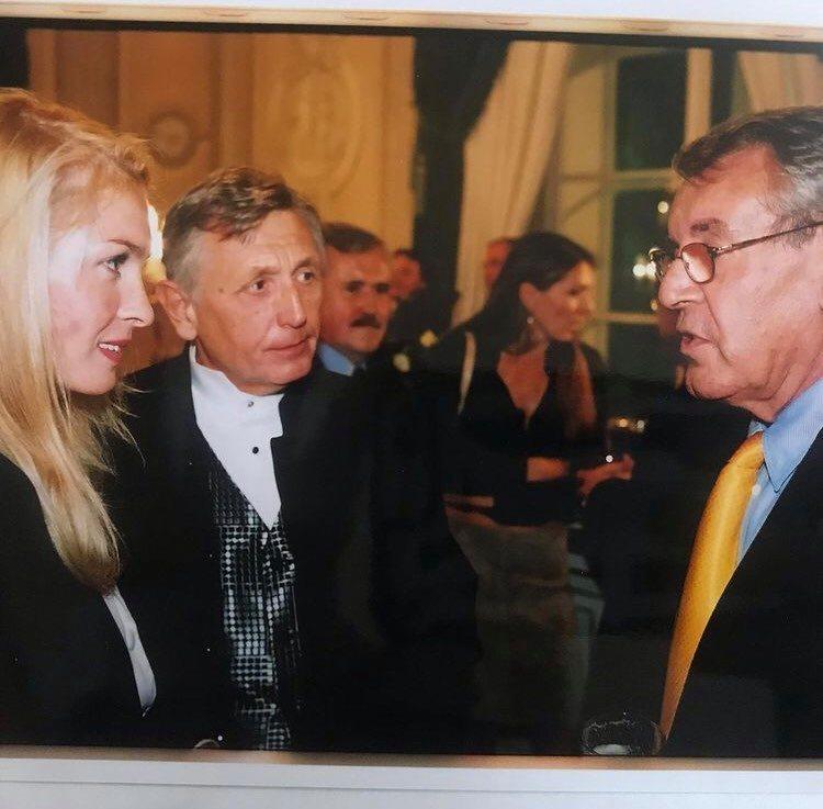 Menzel s manželi Formanovými