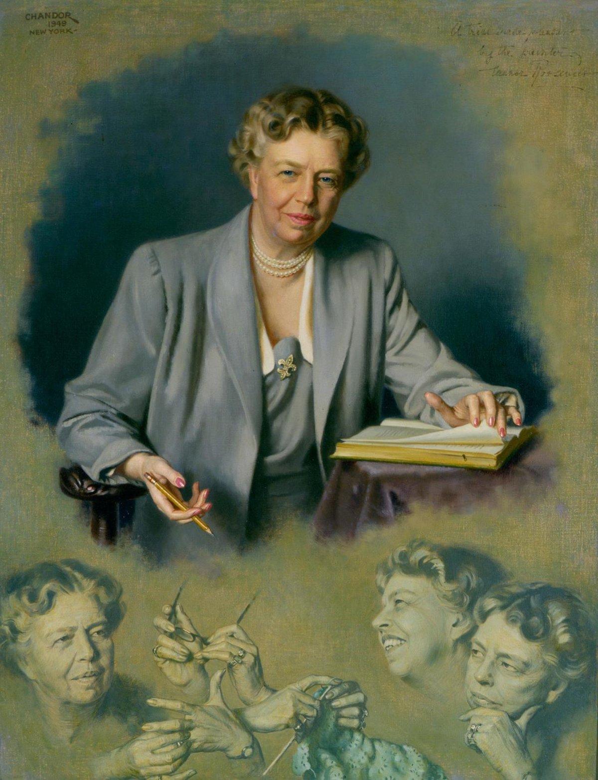 Eleanor Rooseveltové vyčítali její současníci překračování konvencí.