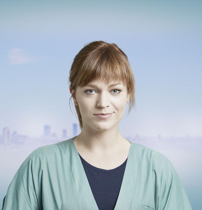 Ester Geislerová v seriálu Anatomie života