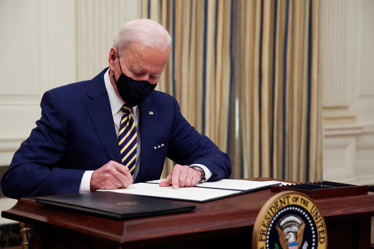 Prezident USA Joe Biden.