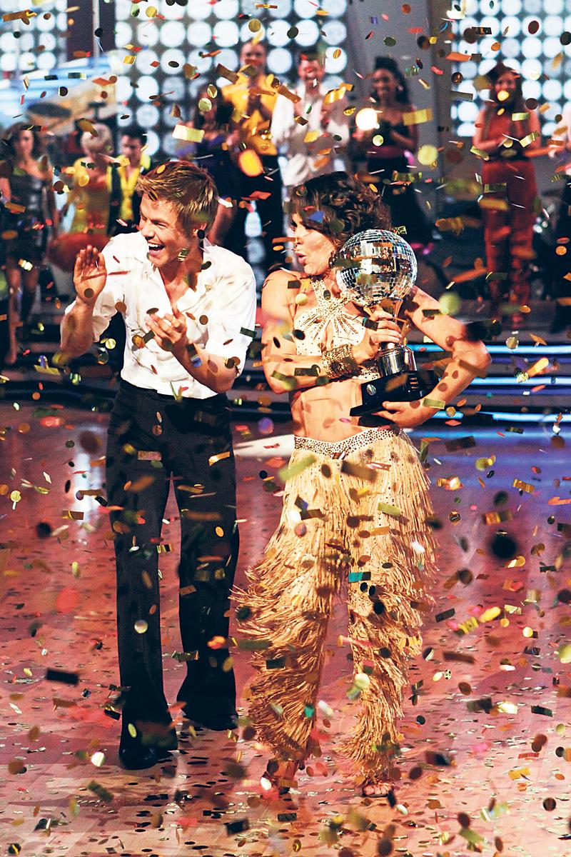 Herečka Jennifer Grey (50) ovládla parket v soutěži Když hvězdy tančí a s přehledem zvítězila.