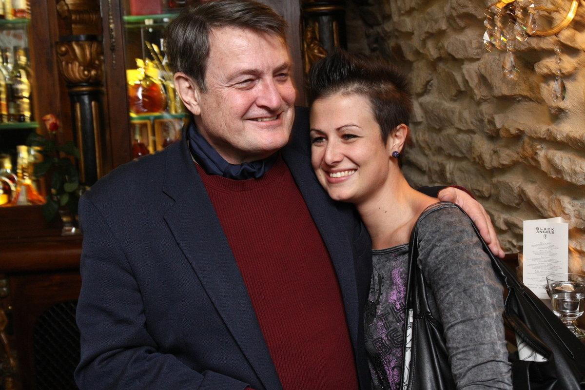 Ladislav Štaidl a dcera