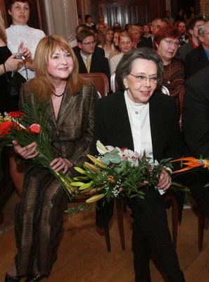 Pavlína Filipovská a Jiřina Jirásková.