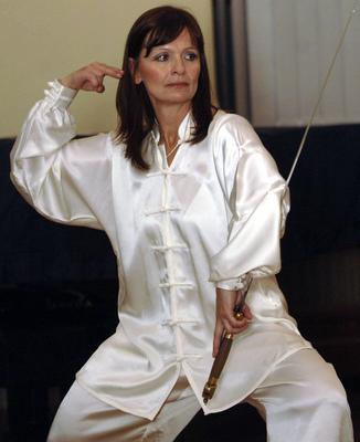 Ljuba Krbová se bojovým uměním věnuje už deset let!