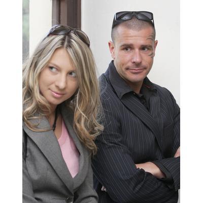 Robert Rosenberg a jeho exmanželka Žaneta.