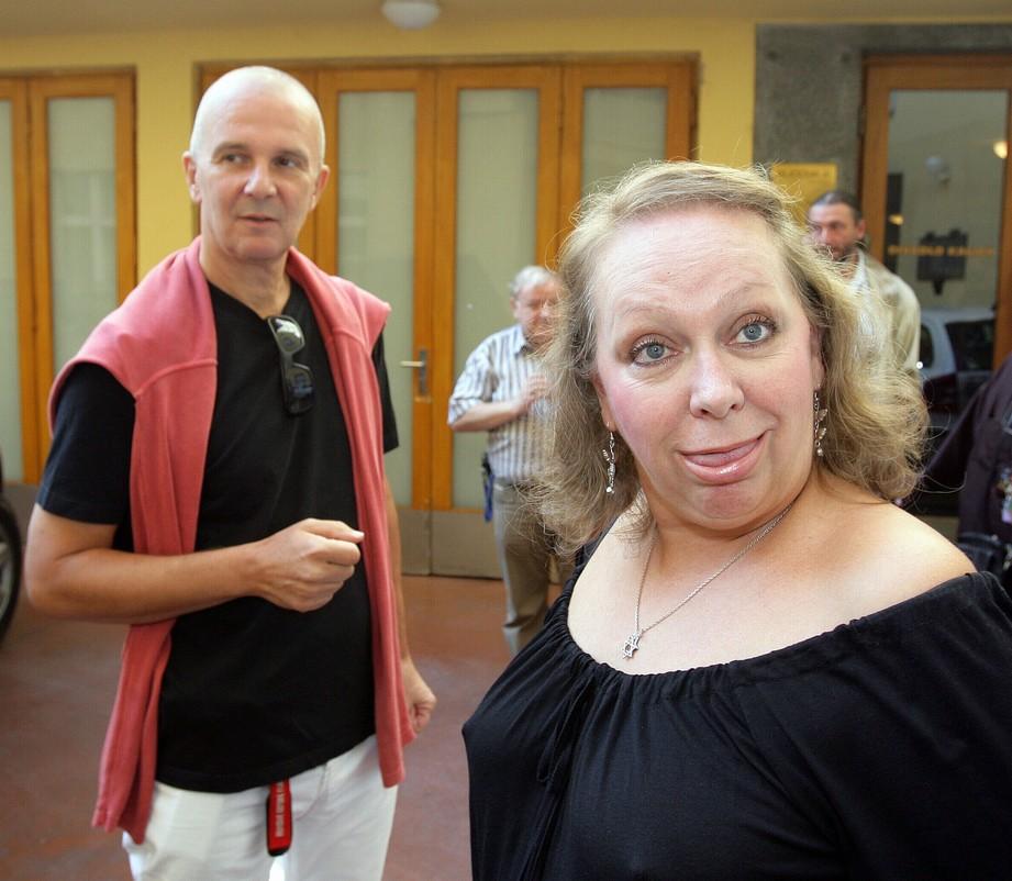 Ondřej Soukup a jeho manželka Gábina Osvaldová