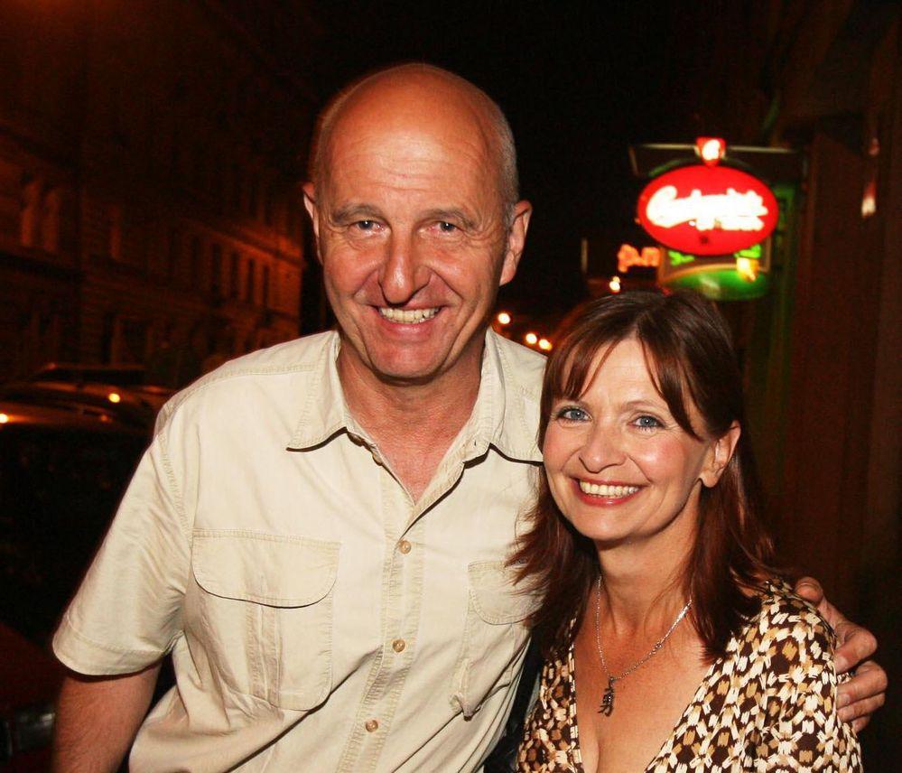 S manželem Ondřejem Neffem.