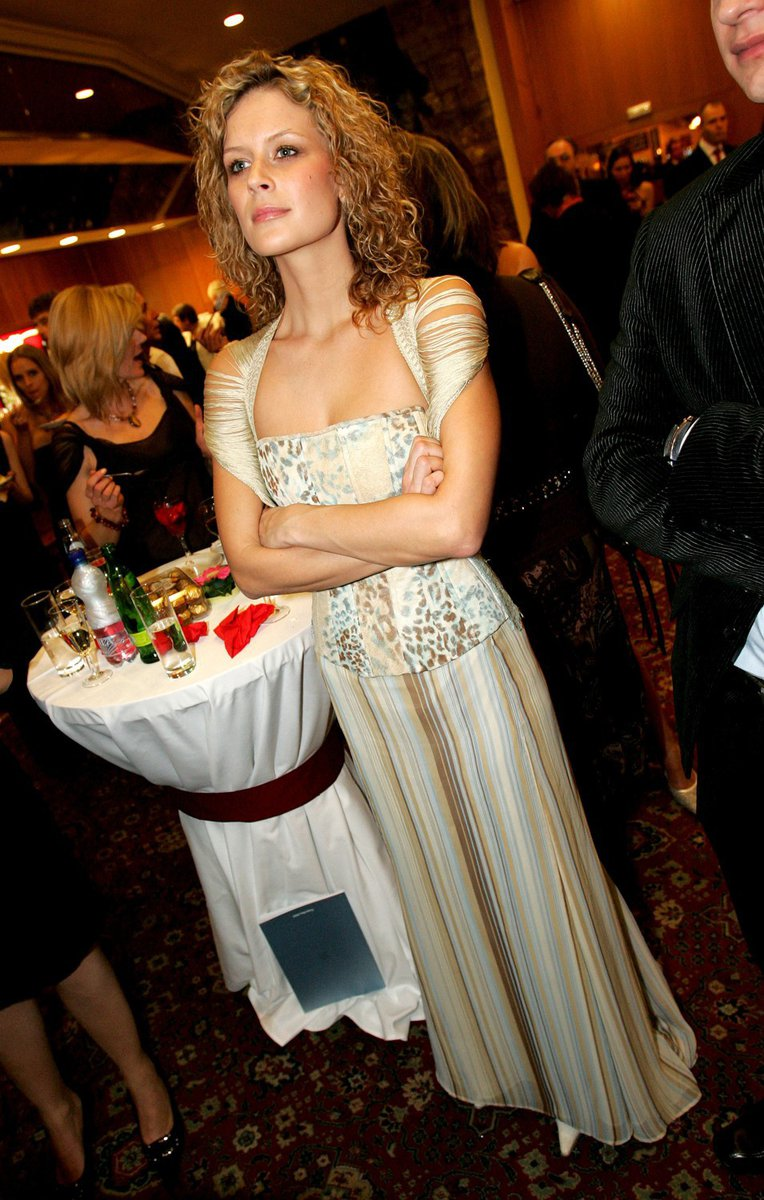 2006: Kateřina Stočesová na České Miss 2006.