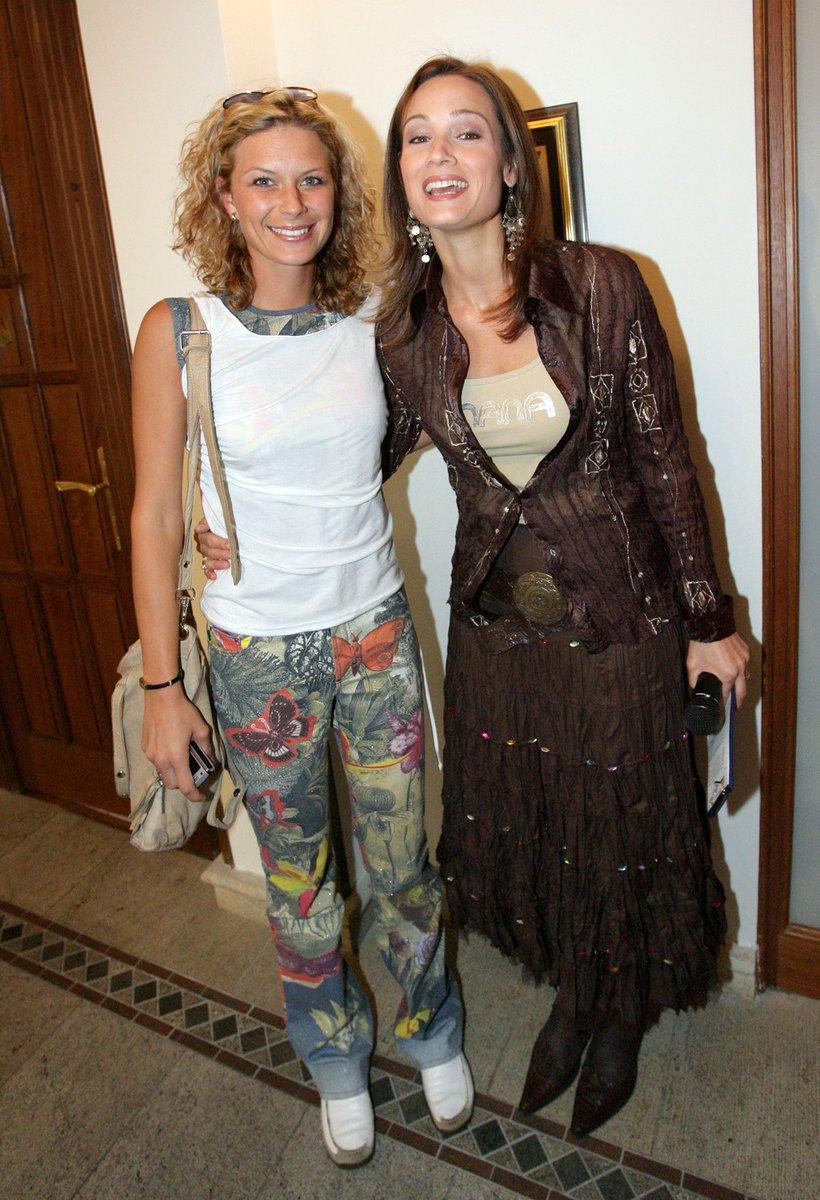 2006: Kateřina s kamarádkou Klárou Doležalovou.