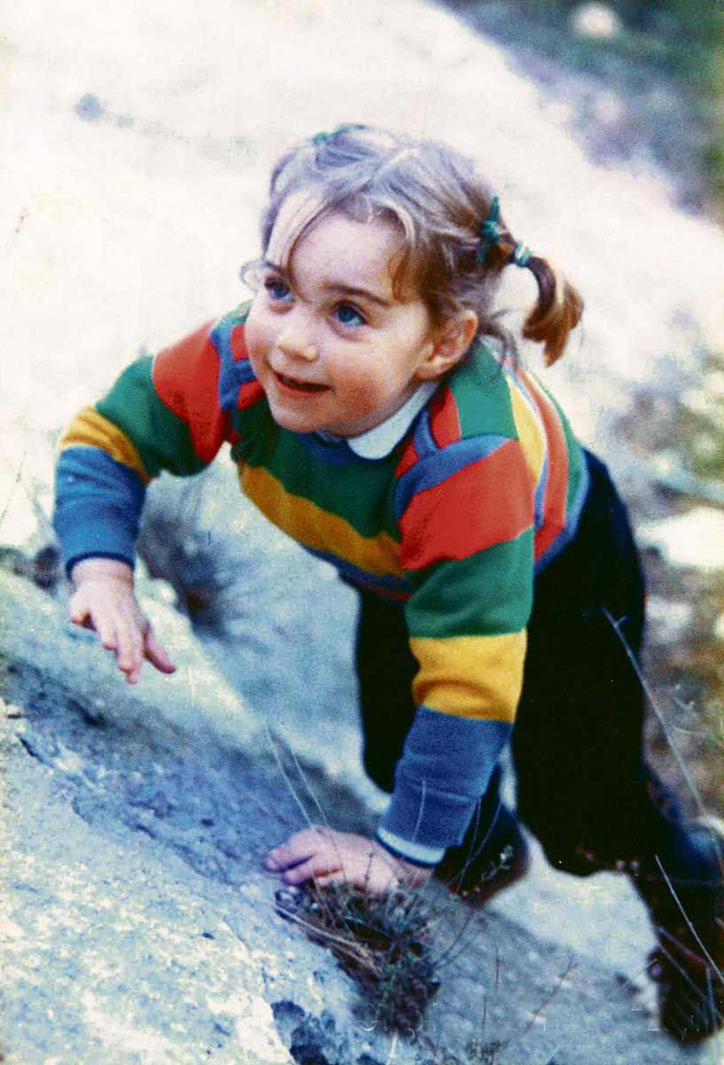 Kate v době, kdy teprve snila o tom být princeznou
