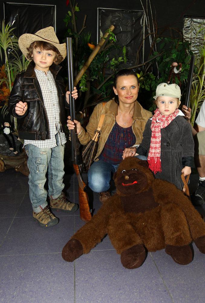 Jana Adámková s dětmi