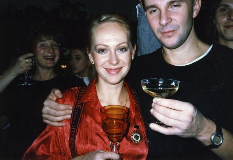 Ondřej s manželkou Gábinou v roce 1985