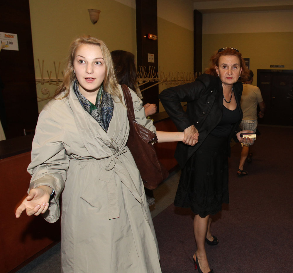 Eva Holubová ukázala svou dceru, kterou jinak do společnosti moc nevodí.